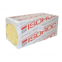 Базальтовая вата Isoroc Изоруф (1000х600х100 мм 1,2 м2; 2 шт)