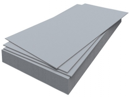 Асбестоцементный плоский лист непрессованный ЛПН, 1200×3000х25 мм