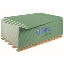 Гипсокартонный лист влаго-огнестойкий Gyproc, 2500х1200х12,5 мм