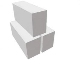 Пеноблок из ячеистого бетона D500, 600х250х70 мм