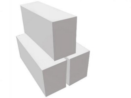 Пеноблок из ячеистого бетона D500, 600х250х100 мм