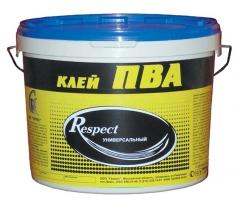 Клей ПВА ГЕРМЕС RESPECT универсальный, 10 кг