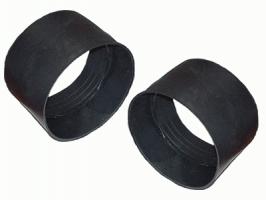 Муфта полиэтиленовая для безнапорных труб, 100 мм