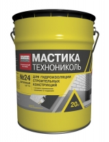 Мастика гидроизоляционная ТЕХНОНИКОЛЬ № 24 (МГТН), 20 л