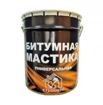 Мастика битумная СтройВэй, 15 кг