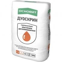 Гидроизоляция эластичная двухкомпонентная ОСНОВИТ ДУОСКРИН Т-62 Компонент сухой, 25 кг