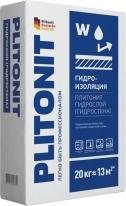 Гидроизоляция тонкослойная для внутренних и наружных работ ПЛИТОНИТ-АкваБарьер ГидроСтена, 20 кг