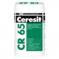 Масса цементная гидроизоляционная CERESIT CR 65, 25 кг