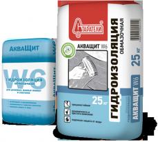 Гидроизоляция СТАРАТЕЛИ АкваЩит W6, 25 кг