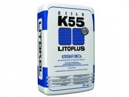 Клей плиточный для мозаики Litokol Litoplus К55, 25 кг