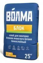 Клей монтажный ВОЛМА-Блок, 25 кг