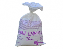 Глина шамотная Мастер-Класс, 20 кг