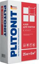Клей для мраморной, мозаичной и стеклянной плитки ПЛИТОНИТ С мрамор, 25 кг
