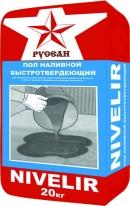 Наливной пол быстротвердеющий РУСЕАН NIVELIR, 20 кг