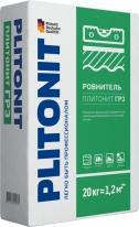 Наливной пол полимерно-гипсовый быстротвердеющий ПЛИТОНИТ ГР3, 20 кг