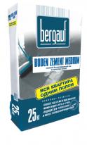 Наливной пол цементный быстротвердеющий Bergauf Boden Zement Medium, 25 кг