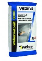 Наливной пол Weber Ветонит 3000, 25 кг