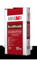 Наливной пол универсальный быстротвердеющий МАГМА EcoNivelir, 20 кг