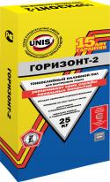 Наливной пол тонкослойный ЮНИС Горизонт-2, 25 кг
