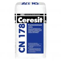 Смесь выравнивающая для пола CERESIT CN 178 (от 5 до 80 мм), 25 кг