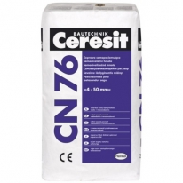 Смесь для выравнивания пола (4-50 мм) CERESIT CN 76, 25 кг