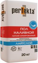 Наливной пол легкий армированный Perfekta ЛАЙТСЛОЙ, 20 кг