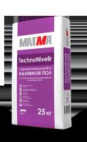 Наливной пол самовыравнивающийся МАГМА TechnoNivelir, 25 кг