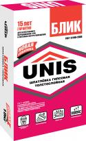 Шпаклевка гипсовая ЮНИС Блик, 18 кг