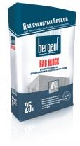 Штукатурка-шпаклевка для выравнивания и ремонта ячеистых блоков Bergauf Bau Block, 25 кг