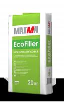 Шпаклевка гипсовая МАГМА EcoFiller, 20 кг