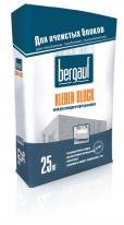 Клей для укладки ячеистых блоков Bergauf Kleben Block, 25 кг