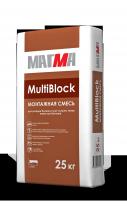 Смесь монтажная МАГМА MultiBlock, 25 кг