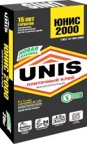 Клей плиточный ЮНИС 2000, 25 кг