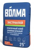 Клей для всех видов плитки и оснований ВОЛМА-Экстраклей, 25 кг