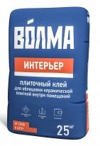Клей плиточный для керамической плитки ВОЛМА-Интерьер, 25 кг