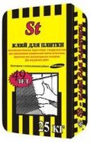 Клей для плиткиРУСЕАН SТ, 25 кг
