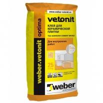 Клей плиточный Weber.Vetonit Optima, 25 кг