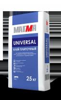 Клей плиточный МАГМА UNIVERSAL, 25 кг