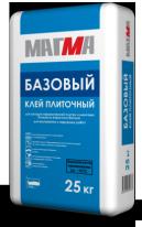 Клей плиточный МАГМА Базовый зимний, 25 кг