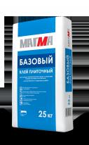 Клей плиточный МАГМА Базовый, 25 кг