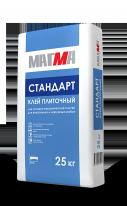 Клей плиточный МАГМА Стандарт, 25 кг