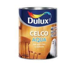 Лак для внутренних работ глянцевый Dulux Celco Aqua 1 л