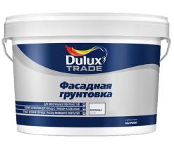 Грунтовка глубокого проникновения фасадная Dulux 10 л