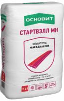 Штукатурка фасадная МН ОСНОВИТ СТАРТВЭЛЛ Т-21, 25 кг
