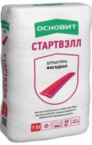 Штукатурка фасадная ОСНОВИТ СТАРТВЭЛЛ Т-21, 25 кг