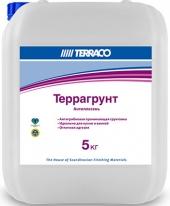 Террагрунт Антиплесень анти-грибковая проникающая грунтовка Terraco 5 кг