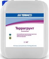 Террагрунт Антиплесень анти-грибковая проникающая грунтовка Terraco 20 кг