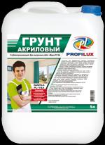 Грунт акриловый для внутренних работ зеленая эт Profilux PL 16 A 10 л
