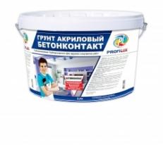 Грунт бетоноконтакт акриловый для внутренних и наружных работ Profilux 12 кг