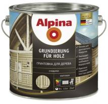 Грунтовка для дерева Alpina Grundierung für Holz 0,75 л